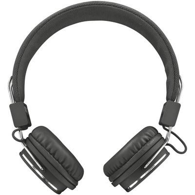 Trust Ziva Mikrofonlu Kulaklık-siyah Kafa Bantlı Kulaklık