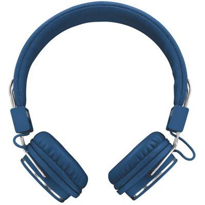 Trust Ziva Mikrofonlu Kulaklık-Mavi Kafa Bantlı Kulaklık