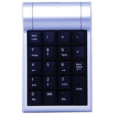 Everest KB-2017 Gri-siyah USB Numeric Standart Kla