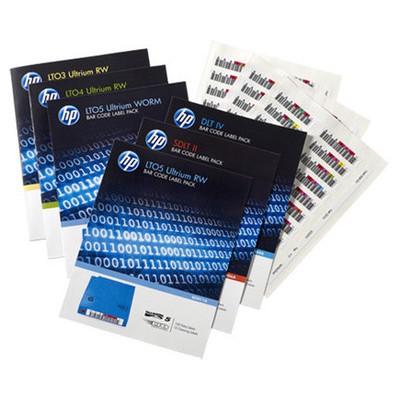 HP  Q2014A LTO7 Barkod Etiketi 100'lü Paket