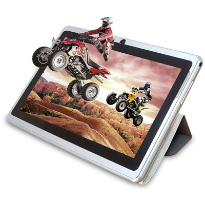 "Quadro Orıon Orion Quad Core 1.33ghz 8gb 7"" Deri Kılflı Dual Cam Android Tablet Kılıfı"