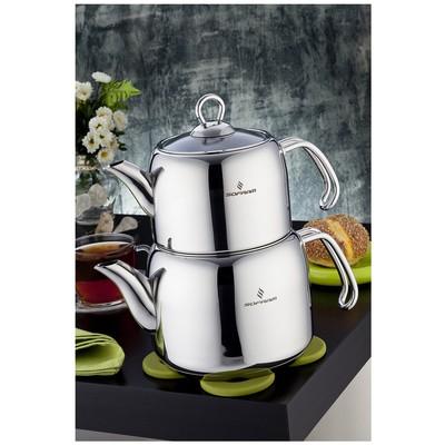 Sofram Soft Mini Boy Çaydanlık Takımı Çaydanlık & Cezve