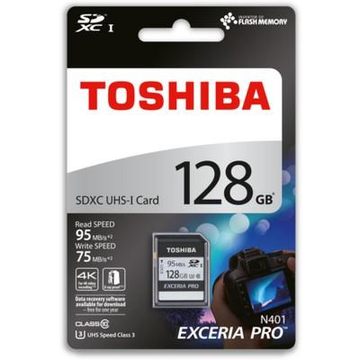 Toshiba 128gb Sdhc Uhs-1 C10 U3 Thn-n401s1280e4 SDHC