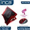Inca INC-341TSK Ergonomik 14cm Sessiz Led Fanlı Notebook Soğutucu Notebook Soğutucu