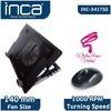 INC-341TSS Notebook Soğutucu + Mouse Set Siyah