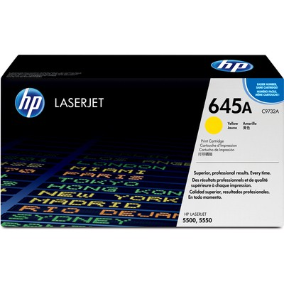 HP  C9732A Yellow Toner Kartuş