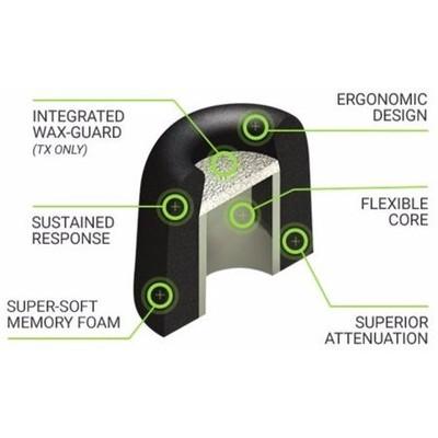 Comply TX-500 Isolation Plus Kulaklık Süngeri - Medium