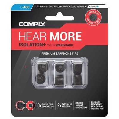 Comply TX-400 Isolation Plus Kulaklık Süngeri - Medium