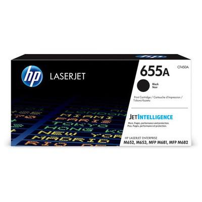 HP CF450A Black Toner Kartuş (655A)