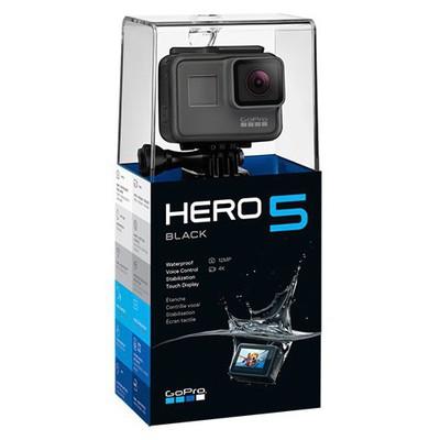 GoPro Hero 5 Black Aksiyon Kamerası 5GPR/CHDHX-501-EU Fotoğraf Makinesi