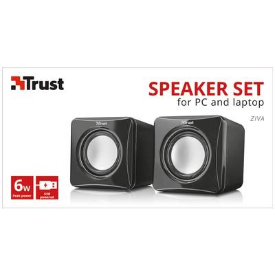 Trust 22132 Ziva Compact2.0 Hoparlör Set Speaker