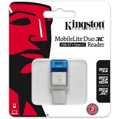 Kingston Kng Mobileliteduo3c Kartokuyucu Fcr-ml3c Kart Okuyucu