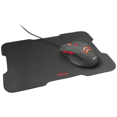 Trust 21963 ZIVA GAMING MOUSE WITH MOUSE PAD Mouse Pad