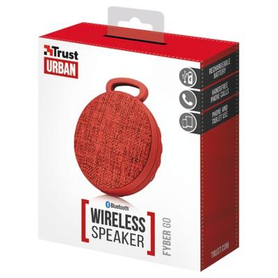 Trust 22011 Fyber Go Bluetooth Wireless Speaker - Kırmızı Bluetooth Hoparlör