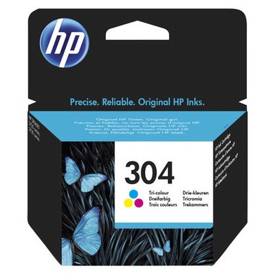 HP N9k05ae (304) Uc Renkli Mürekkep u 100 Sayfa Kartuş