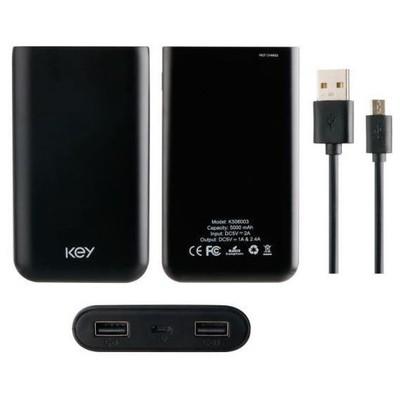 KEY 812104022068 Key 5000 Mah Powerbank Taşınabilir Şarj Cihazı