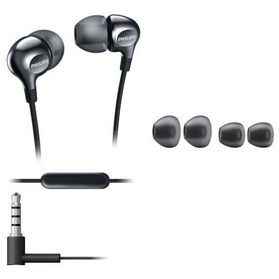 Philips  She3705bk She3705bk/00 Kulak Içi Mikrofonlu Kulaklık Siyah