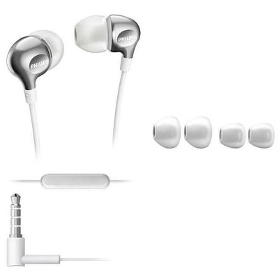 Philips SHE3705WT SHE3705WT/00 Kulak içi Mikrofonlu Kulaklık Beyaz Kulak İçi Kulaklık