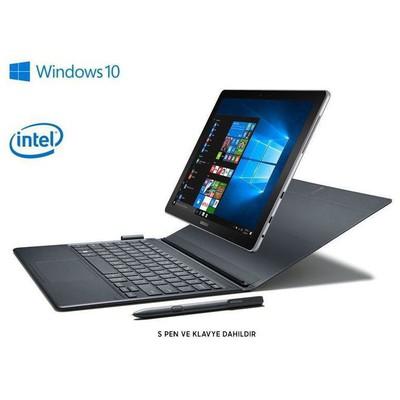 """Samsung  W720-sıyah Galaxy Book Intel Ci5 3.1ghz 4gb/128gb 12"""" Fhd Wifi Windows 10 Siyah"""