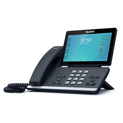 Yealink Sıp-t56a Ip Phone 7 Inc 1024x600 Color Touch Screen 2portxgıgabıt (poe) 11n Wıfı 1xusb IP Telefon