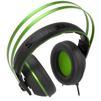 Asus Cerberus V2 Yeşil Oyuncu Kulaklığı, 53mm Essence Sürücü, Paslanmaz Çelik Kafabandı, Pc/ps4/xbox/mac Uyumlu Kafa Bantlı Kulaklık