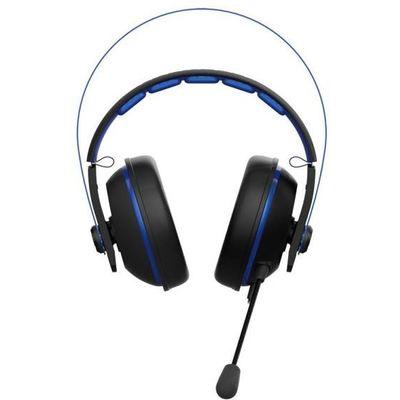 Asus  Cerberus V2 Mavi Oyuncu Kulaklığı, 53mm Essence Sürücü, Paslanmaz Çelik Kafabandı, Pc/ps4/xbox/mac Uyumlu