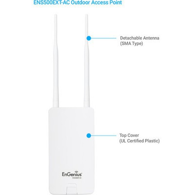 Engenius EnTurbo ENS500EXT-AC Outdoor Access Point