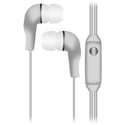 Snopy SN-777B MP3 Kulak İçi Beyaz Mikrofon Kulaklık