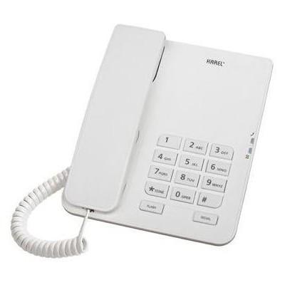 Karel TM140 KABLOLU TELEFON BEYAZ Kablolu Telefon
