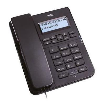 Karel TM145 KABLOLU TELEFON SİYAH