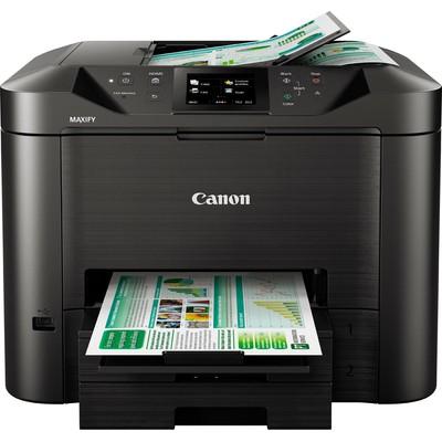 Canon MAXIFY MB5450 1200 x 1200DPI Mürekkep püskürtmeli A4 Wi-Fi çok amaçlı cihaz Mürekkepli Yazıcı
