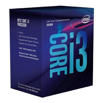 Intel Core i3-8100 Dört Çekirdekli İşlemci
