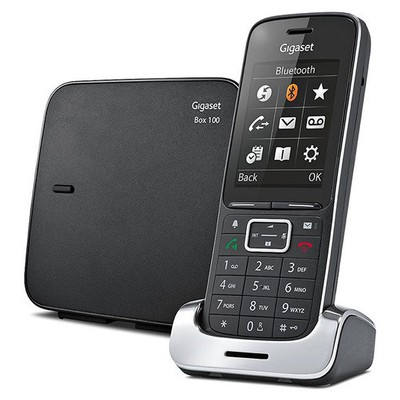 Gigaset SL450-BLACK DECT 0 Caller ID Bluetooth Titreşim Telsiz Telefon