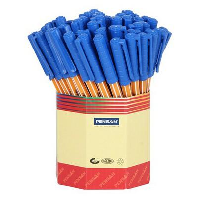 Pensan Tükenmez  60'lı Paket Ofispen (1010) Mavi Kalem