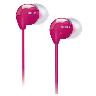 Philips Kulakiçi Kulaklık Mikrofonlu Bass Sound (she3595) Pembe Kulak İçi Kulaklık
