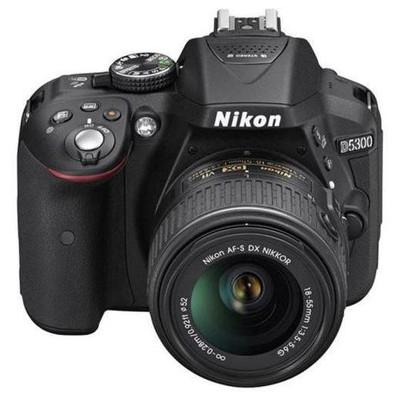 Nikon 18208946211 D5300 + AF-P 18-55 Non VR Fotoğraf Makinesi