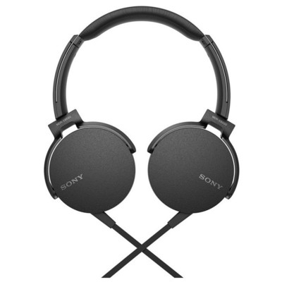 Sony Mdr-xb550apb.ce7 Kulaküstü Kulaklık Siyah Kafa Bantlı Kulaklık