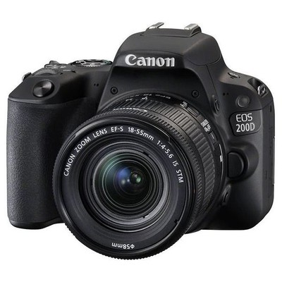Canon 4549292092707 200D & 18-55 DC STM LENS Lens