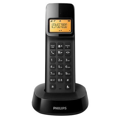 Philips D1401b/tr Dect Telefon Siyah Telsiz Telefon