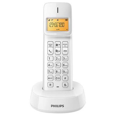 Philips D1401W-TR BEYAZ KABLOSUZ DECT TELEFON