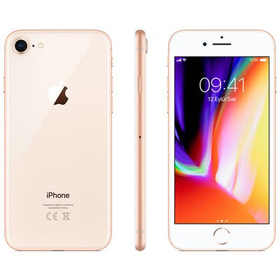 Apple Iphone 8 64gb Mq6j2tu/a Gold - Tr Garantilidir Cep Telefonu