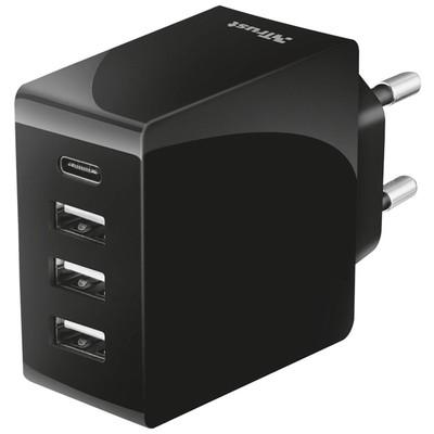 Trust 22029 24w 4x Usb Ultra Hızlı Duvar Tipi Şarj Cihazı Şarj Cihazları