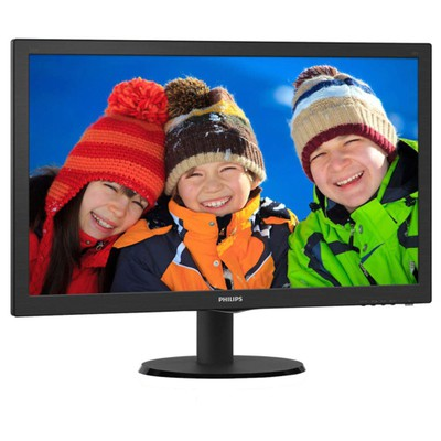"""Philips 243V5QSBA-01 23.6"""" 8ms Full HD Monitör"""