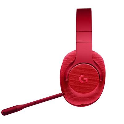 Logitech G433 7.1 Surround Gamıng Headset Fıre Red 981-000652