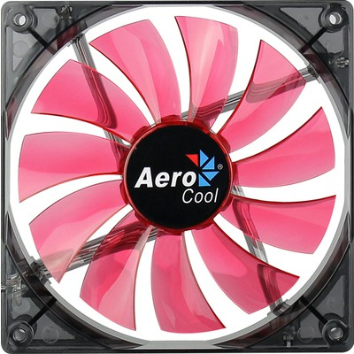 Akasa Aerocool Lightning (ae-cflg140rd) 14cm Kırmızı Ledli Sessiz Kasa ı Fan