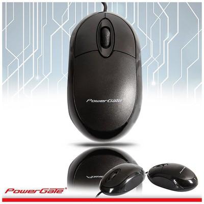 PowerGate PG-E190-S Kablolu Mouse - Siyah