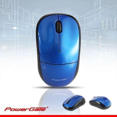 PowerGate PG-K101 K101 Kablosuz Nano 2.4GHz Mavi Mouse