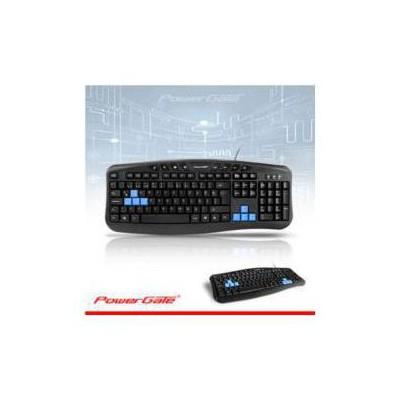 PowerGate KB-X5 Q Multimedya Klavye Usb Siyah