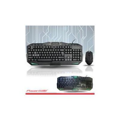 PowerGate PG-KM-A6 POWERGATE KM-A6 M.Medya Klavye + Mouse USB