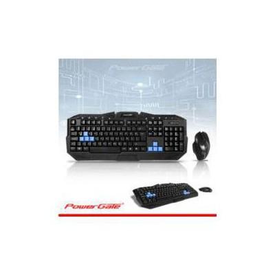 PowerGate PG-KM-Q7 Kablosuz Klavye Seti
